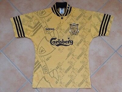 "FC LIVERPOOL adidas Third Trikot Soccer Shirt 1994/96 Jersey Youth Boys 30""- 32"""