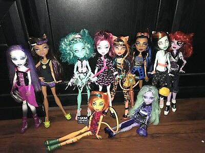 Monster High Bundle, Lovely Condition