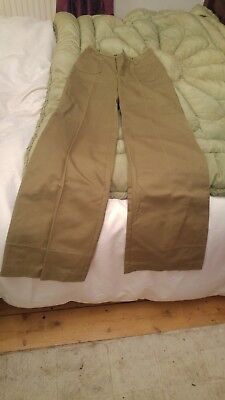 1970's flared trousers size 6