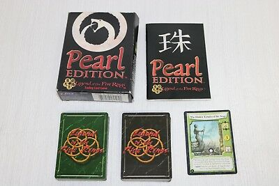 1999 Legend of the Five Rings Pearl Edition Naga Clan Stronghold Starter Set