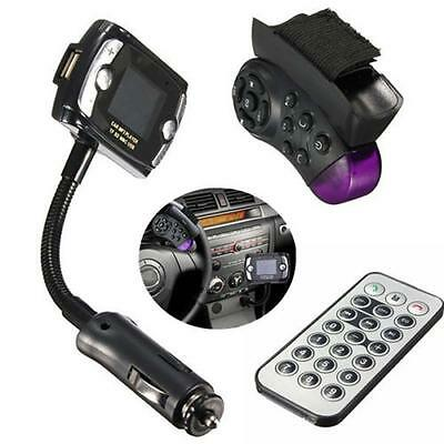 Car Kit MP3 Music Player Wireless Bluethoot FM Transmitter Radio With Remote MC-