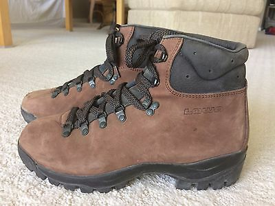 LOWA Trekking Boots - Sueded Leather Size 8.5