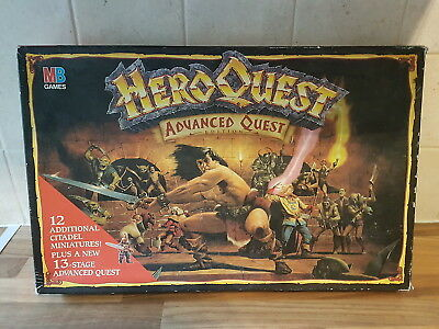 Games Workshop MB HeroQuest Advanced Quest Board Game Warhammer