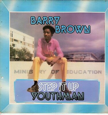 """"""" STEP IT UP YOUTHMAN. """" barry brown. PARADISE UK orig L.P. 1979."""