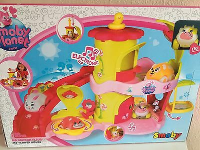 SMOBY* My Flower House* Multi-activity house * Fun set for children BRAND NEW