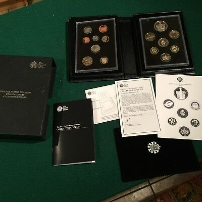 The 2013 United Kingdom Proof Coin Set Collector Ltd Edition Royal Mint, rare