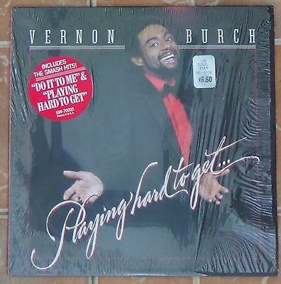 Vernon Burch - Playing Hard To Get 1982 vinyl LP excellent