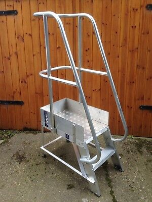 Ramsay Ladders Industrial Aluminium Production Line Mobile Platform Step Salvage