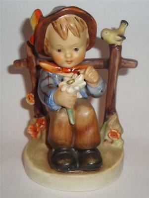 VINTAGE HUMMEL GOEBEL FIGURE 174 SHE LOVES ME SHE LOVES ME NOT c 1960's
