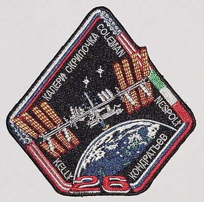 Aufnäher Patch Raumfahrt ISS Mission - Expedition 26 ..............A3216