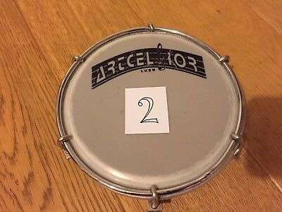"6"" Artcelsior Tamborim Brazilian Samba Drum And Beater (1 Of 7) No 2"