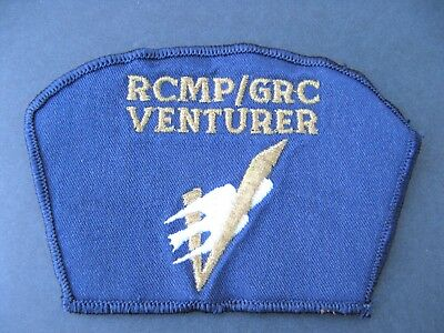 Boy Scouts Canada Venturer Embroidered Patch Gold Metalic