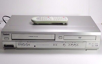Symphonic UDV660 VCR VHS DVD Video Cassette Recorder Combo With Remote