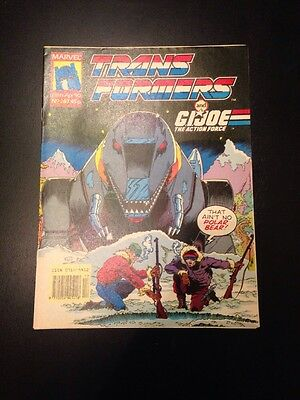 Marvel UK Transformers G1 Issue Number 267 April 1990