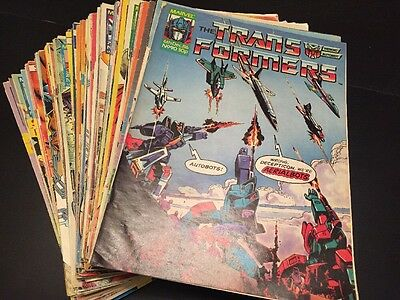 Any 4 Marvel UK Transformers G1 Issues 88 - 237