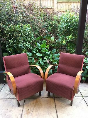 Jindrich Halabala armchair 1930/40's  ( available 2x on request)