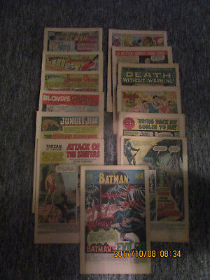 Huge Lot Of Coverless Silver Age Comic Book