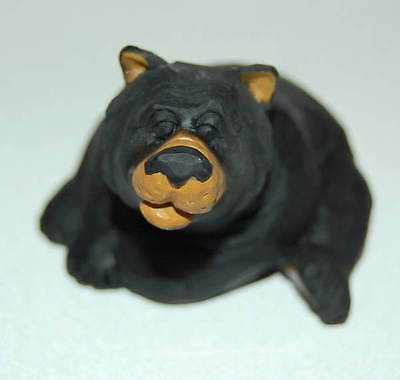 New Retired Rare Wetherbee Black Bear Good Morning Have A Great Day