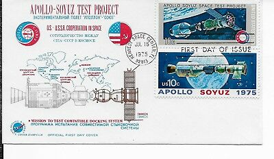 US Scott 1570a   tied by Kennedy Space Center,Fl 7/15/75 FDC