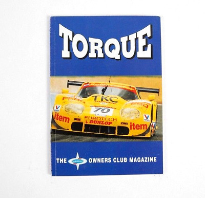 """Marcos Cars Owners Club Magazine """"TORQUE"""" issue 82"""
