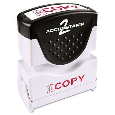 ACCUSTAMP2 Pre-Inked Shutter Stamp with Microban, Red, COPY - 035594