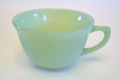 Vintage Green Fire King Cup -