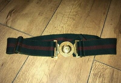 Genuine British Army Womens Royal Army Corps Belt And Badge