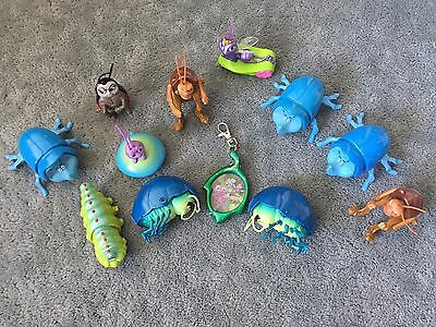 Lot of 12 Toys-Figures -  A Bug's Life - VINTAGE - RARE