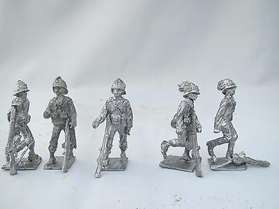Toysoldiers Soldatini Colonial Italy  Non Dipinti - Cast