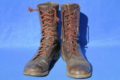 US Army M45 Combat Boots Named Size 9-1/2D