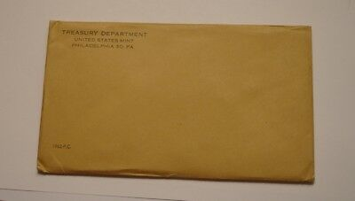1962 United States Mint Proof Set UNOPENED SEALED ENVELOPE nice 100% Original