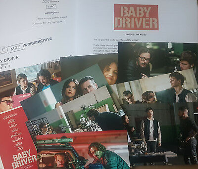 BABY DRIVER  2017  Edgar Wright Press Information & Pictures Check it out!