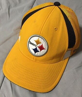 William Gay - 2009 Pittsburgh Steelers Gold Game Used Sideline Hat