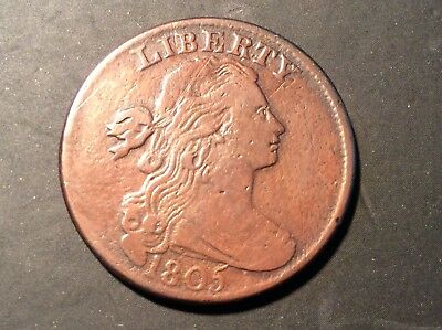 1805 Draped Bust Large Cent