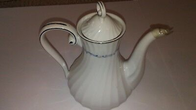 Celebrity Fine China -  Pattern Evening Tide-  Coffee Pot