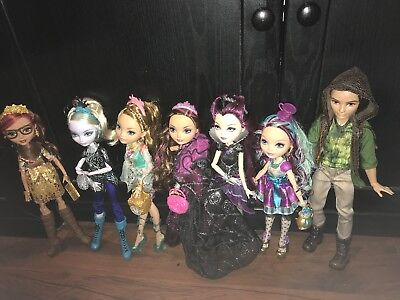Ever After High Bundle, Fab Condition