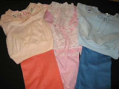 VINTAGE 7 PC. LOT GIRL CLOTHES SIZE  4 T 1970's