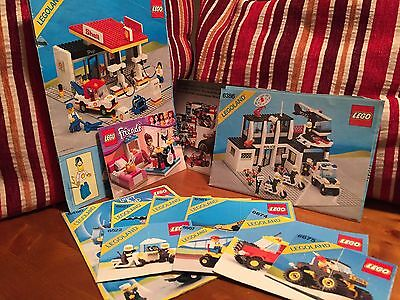 LEGO instruction manual bundle 6450/6522/6657/6698/6361/6675/6674/6507/6386/6378