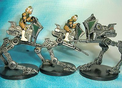 Star Wars Miniatures Lot  AT-RT Revenge of the Sith !!  s97