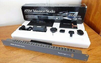 Blackmagic Design ATEM TV Studio Production Switcher Video Mixer Television