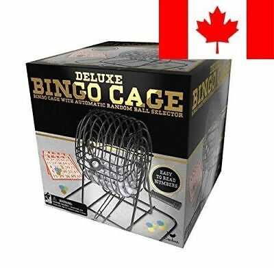 Cardinal Games Deluxe Wire Cage Bingo Set (Styles Will Vary)