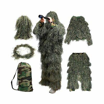 Red Rock Outdoor Gear Men's Ghillie Suit (Woodland Camouflage, X-Large/XX-Large)