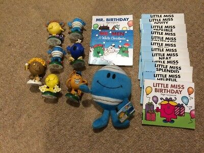 Mr Men And Little Miss Figurine And Book Collection Roger Hargreaves