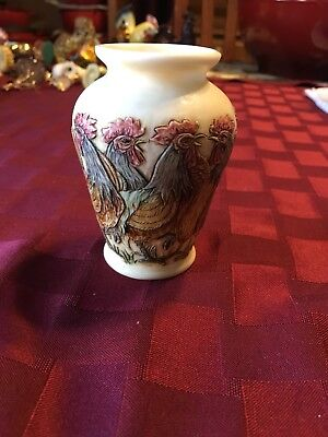 Jardinia Rooster Vase EARLY CALL