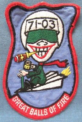 Webb AFB, Big Spring, TX 3560th Pilot Training Wing Class 71-03 pocket patch