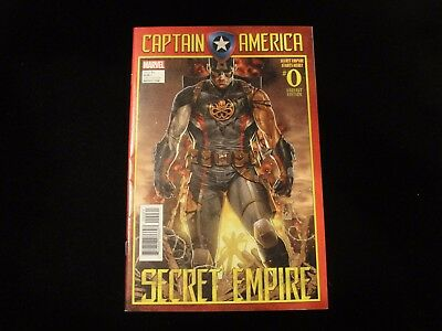 Captain America #0 Secret Empire ...... ..combine Shipping!!