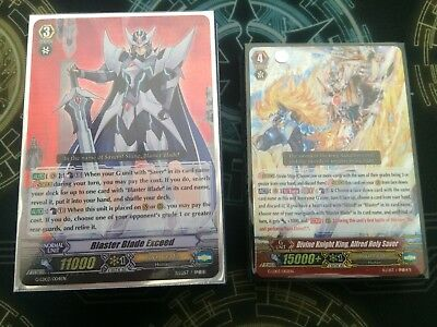 Cardfight Vanguard Blaster Blade Deck + Playmat, & More!!! *READY TO SHIP*