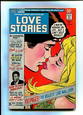 DC Love stories 100 page giant scarce #5 1971