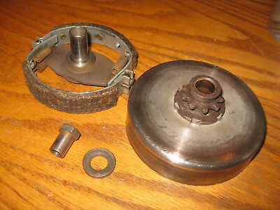 Vintage Kart (Go Cart) Max-Torque Clutch Assembly - 9 Tooth (Fits Mcculloch)