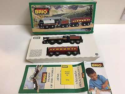 1996 Brio 33431 Canadian Pacific Royal Hudson Trains Of World Series Wooden